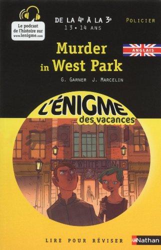 9782091879659: Murder in West Park