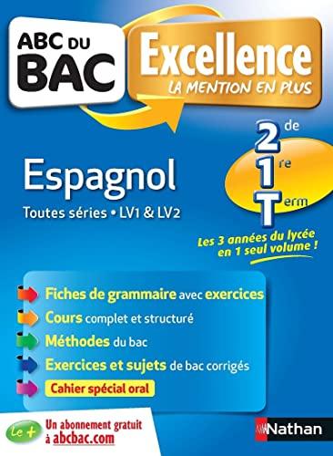 ABC du BAC Excellence Espagnol 2de.1re.Term: De Jorna, Antonette,