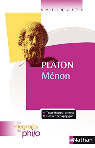 Ménon - Nº 15: Platon