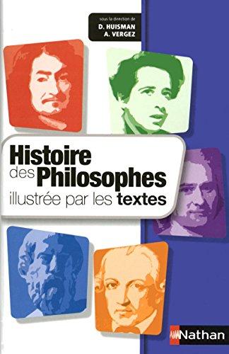 9782091882154: Histoire des philosophes illustrée par les textes (French Edition)