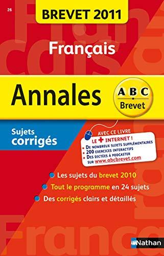 9782091882581: Francais : Sujets corrigés