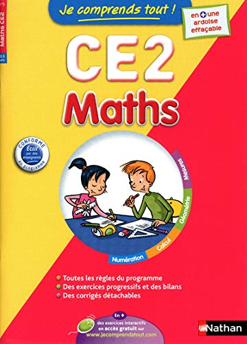 9782091882963: JE COMPRENDS TOUT MATHS CE2