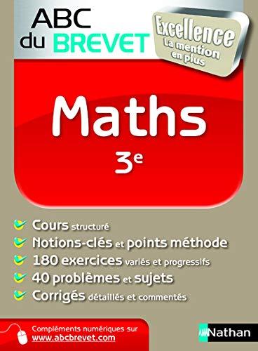 9782091883519: ABC BREVET EXCELLENCE MATHS 3E