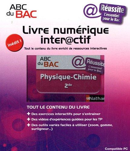 9782091884196: Livre numérique interactif Physique - Chimie 2e (French Edition)