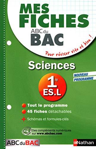 9782091884646: ABC DU BREVET T.5; mes fiches pour le bac ; sciences ; 1ères L-ES