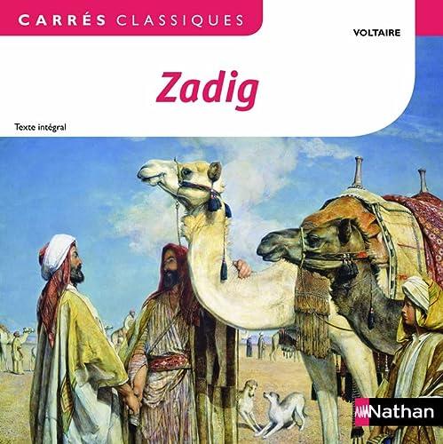 9782091885483: Zadig ou La destinée (Carrés classiques)