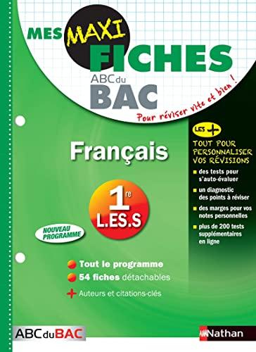 9782091891095: Mes MAXI Fiches Français 1ère L-ES-S