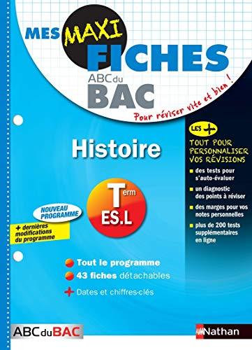9782091891132: Mes MAXI Fiches Histoire Terminale L-ES