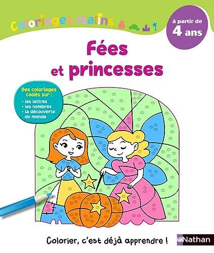 9782091891446: Coloriages Malins - F�es et princesses - A partir de 4 ans