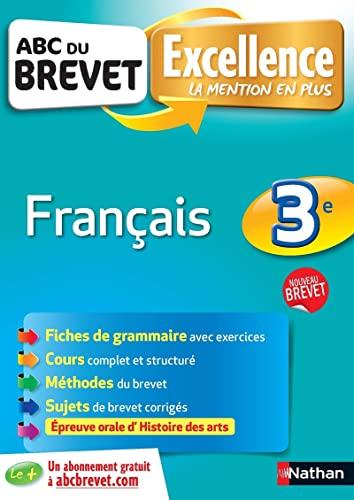 9782091892696: français ; 3ème