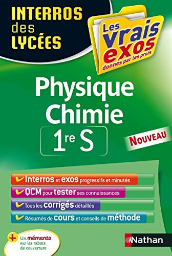 9782091892832: physique chimie ; 1re S