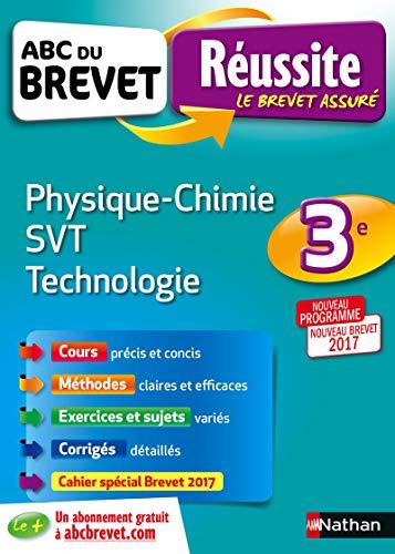 9782091892887: ABC du BREVET Réussite Physique-Chimie SVT Techno 3e
