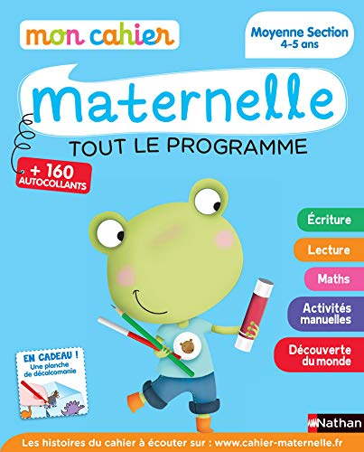 9782091893068: Mon cahier maternelle: Mon cahier maternelle Moyenne Section 4-5 ans