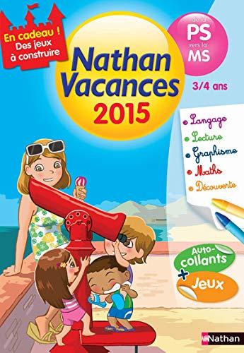 9782091893181: Nathan Vacances maternelle - De la PS vers la MS