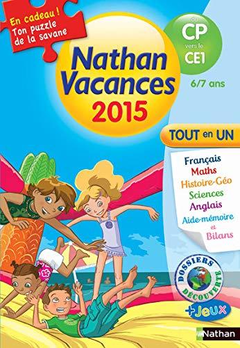 9782091893211: Cahier de vacances CP - CE1 6 - 7 ans
