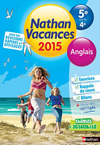 9782091893341: Cahier de vacances - Anglais 5e - 4e