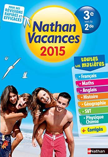 9782091893419: Nathan Vacances de la 3e à la 2de