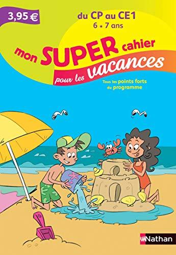 9782091893914: Mon SUPER cahier pour les vacances - Du CP au CE1