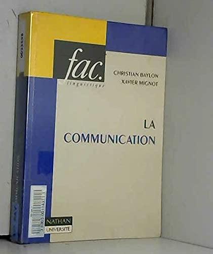 9782091900087: La communication