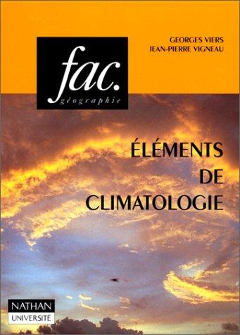 9782091900131: Eléments de climatologie