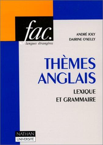 9782091900179: THEMES ANGLAIS. Lexique et grammaire