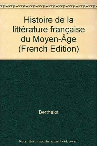 9782091900360: HISTOIRE DE LA LITTERATURE FRANCAISE DU MOY
