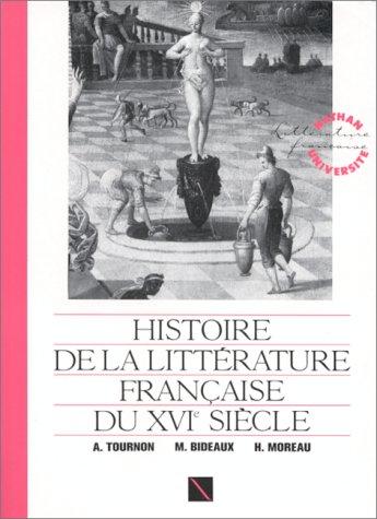 Histoire de la littà rature française du: Michel Bideaux
