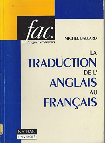 La Traduction De L Anglais Au Francais