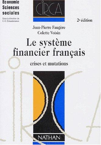 9782091901220: Le Système financier français