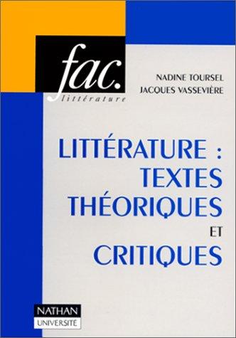 9782091902203: Littérature : Textes Théoriques Et Critique (French Edition)