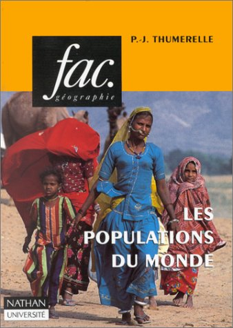 9782091902241: Les populations du monde (Fac) (French Edition)