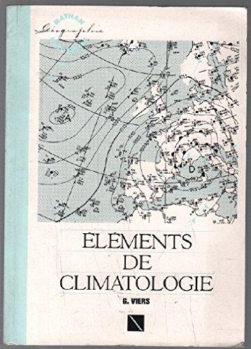 9782091902678: Eléments de climatologie
