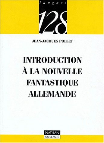 9782091903866: Introduction à la nouvelle fantastique allemande