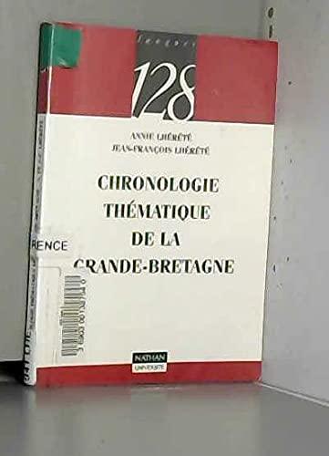 9782091904481: Chronologie thématique de la Grande-Bretagne