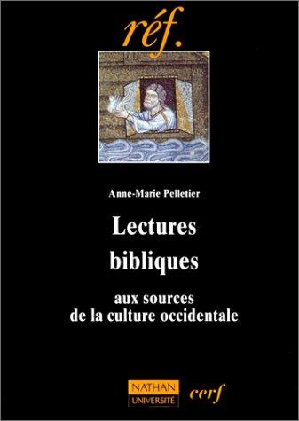 """9782091905297: Lectures bibliques: Aux sources de la culture occidentale (Collection """"réf."""") (French Edition)"""
