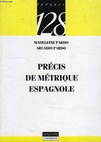 9782091905839: Precis de metrique espagnole