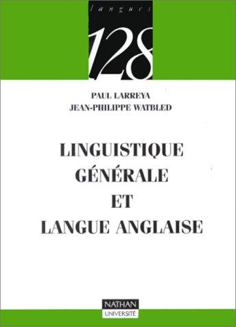 9782091906669: Linguistique générale et langue anglaise
