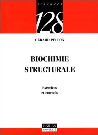 9782091906690: Biochimie structurale. Exercices et corrigés
