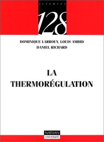 9782091907284: La thermor�gulation