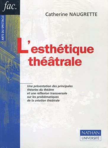 9782091907925: L'esthetique theatrale