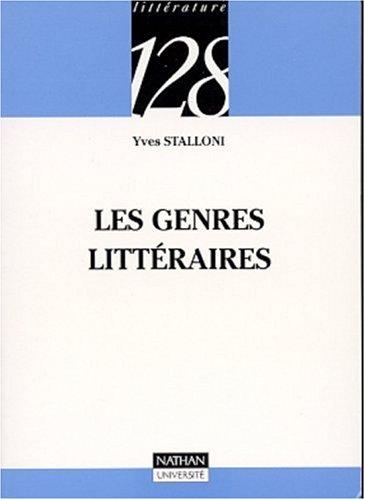 9782091911427: Les genres littéraires