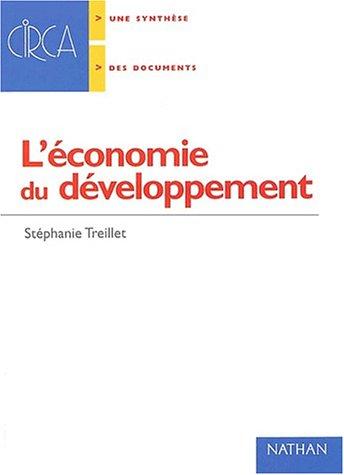 L'économie du developpement (Circa): Stéphanie Treillet