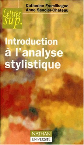 9782091912776: Introduction a l'analyse stylistique np