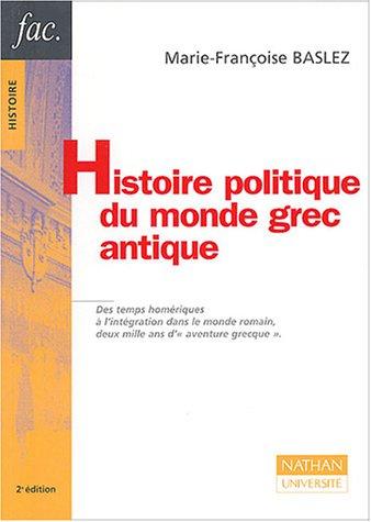 9782091913438: Histoire politique du monde grec antique
