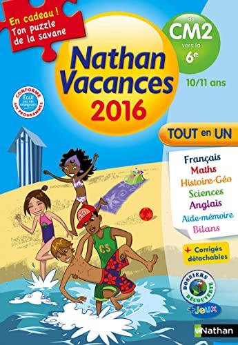 9782091930473: Nathan vacances du CM2 vers la 6e 10/11 ans