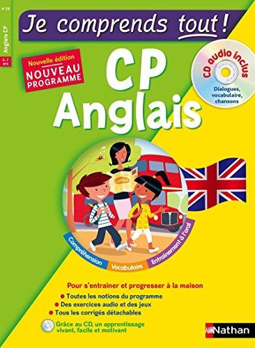 9782091931340: Anglais CP - cours + exercices + audio - Je comprends tout - conforme au programme de CP