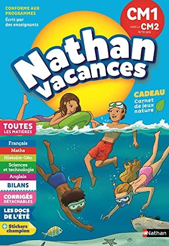 9782091932590: Cahier de vacances primaire CM1 vers CM2 9/10 ans (Nathan vacances)