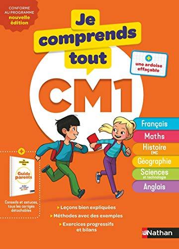 9782091932941: Je comprends tout CM1 - Tout en un (cours + exercices) pour réviser tout le programme du CM1 dans toutes les matières