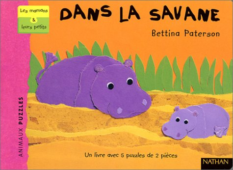 Dans la savane (1 livre + 5: Paterson, Bettina
