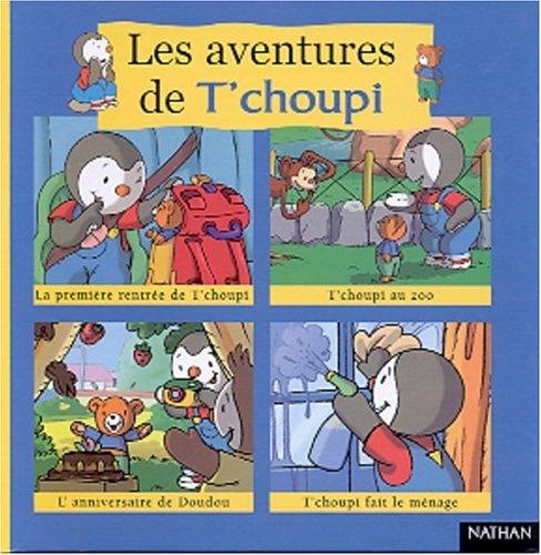 9782092021644: Les aventures de T'choupi. Volume 1